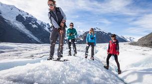 Helicopter tours-Aoraki / Mount Cook-Tasman Glacier heli hiking excursion-6