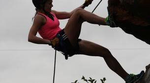 Abseiling-Pretoria-Abseiling and rap jumping in Cullinan near Pretoria-1