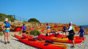 Kayaking-Dénia-Kayaking excursion in Les Rotes, Denia-5