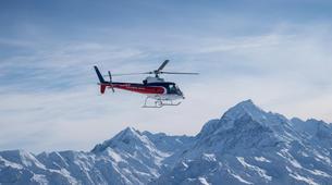 Helicoptère-Glacier Fox-Fox Glacier heli flight to Mount Cook-4
