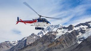 Helicopter tours-Aoraki / Mount Cook-Tasman Glacier heli hiking excursion-4