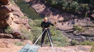 Abseiling-Pretoria-Abseiling and rap jumping in Cullinan near Pretoria-2