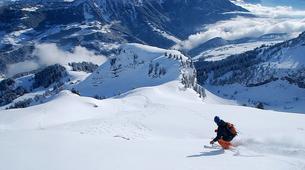 Ski Hors-piste-Chamonix Mont-Blanc-Descente de la Vallée Blanche à Ski, Chamonix-2