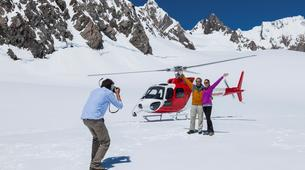 Helicopter tours-Fox Glacier-Mount Cook helicopter flight with glacier landing-3