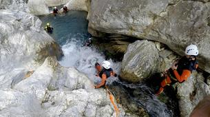 Canyoning-Parc Naturel de la Sierra de las Nieves-Zarzalones canyon in Sierra de las Nieves Natural Park-2