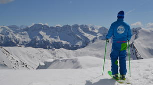Ski touring-Châtel, Portes du Soleil-Backcountry skiing in Châtel, Portes du Soleil-1
