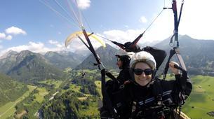 Paragliding-Oberstdorf-Tandem paragliding flight (1932 m.) in Oberstdorf-4
