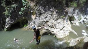 Canyoning-Parc Naturel de la Sierra de las Nieves-Zarzalones canyon in Sierra de las Nieves Natural Park-3