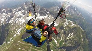 Paragliding-Oberstdorf-Tandem paragliding flight (2224 m.) in Oberstdorf-3