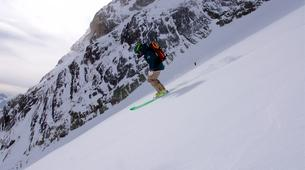 Ski touring-Alpe d'Huez Grand Domaine-Ski touring session in Grandes Rousses, Alpe d'Huez-5