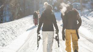 Snowshoeing-Ordino-Snowshoeing excursions in Ordino, Andorra-1