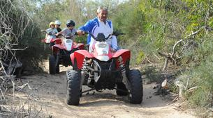 Quad-Ragusa-Quad excursions in the area of Passo marinaro, Sicily-3