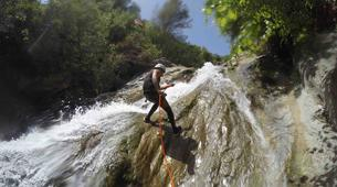 Canyoning-Sierra de las Nieves Natural Park-Zarzalones canyon in Sierra de las Nieves Natural Park-4