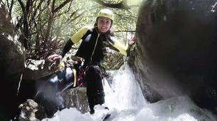 Canyoning-Sierra de las Nieves Natural Park-Zarzalones canyon in Sierra de las Nieves Natural Park-1