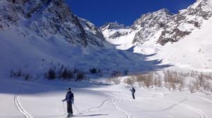 Ski touring-Monetier, Serre-Chevalier-Ski and snowboard touring in Monetier, Serre Chevalier-6