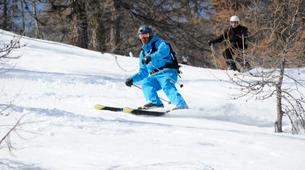 Backcountry Skiing-Monetier, Serre-Chevalier-Backcountry skiing and snowboarding in Monetier, Serre Chevalier-3