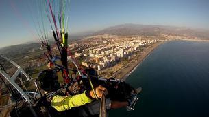 Paramotoring-Malaga-Tandem paramotoring flight near Malaga-1