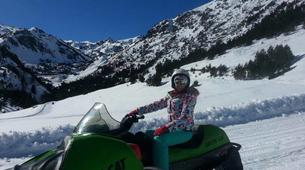 Snowmobiling-Ordino-Snowmobile excursions in Ordino, Andorra-1