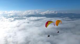 Paragliding-Oberstdorf-Tandem paragliding flight (1932 m.) in Oberstdorf-5