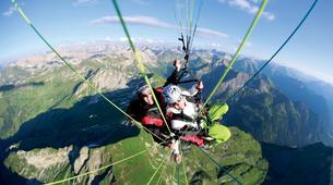 Paragliding-Oberstdorf-Tandem paragliding flight (1932 m.) in Oberstdorf-3