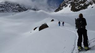 Ski touring-Monetier, Serre-Chevalier-Ski and snowboard touring in Monetier, Serre Chevalier-1