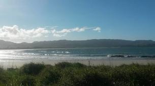 Surfing-Matakana-Intermediate surfing lessons on the Matakana coast, New Zealand-1