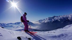 Backcountry Skiing-Alpe d'Huez Grand Domaine-Backcountry skiing session in Grandes Rousses, Alpe d'Huez-5