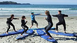 Surfing-Matakana-Beginner's surfing lessons on the Matakana coast, New Zealand-5