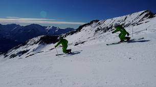 Backcountry Skiing-Alpe d'Huez Grand Domaine-Backcountry skiing session in Grandes Rousses, Alpe d'Huez-2