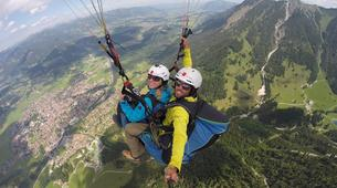 Paragliding-Oberstdorf-Tandem paragliding flight (2224 m.) in Oberstdorf-2