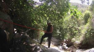 Canyoning-Sierra de las Nieves Natural Park-Zarzalones canyon in Sierra de las Nieves Natural Park-6