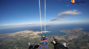 Skydiving-Syracuse-Tandem skydive from 4,200m over Syracuse, Sicily-3