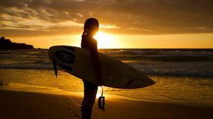Surfing-Matakana-Intermediate surfing lessons on the Matakana coast, New Zealand-4