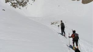 Ski touring-Monetier, Serre-Chevalier-Ski and snowboard touring in Monetier, Serre Chevalier-5