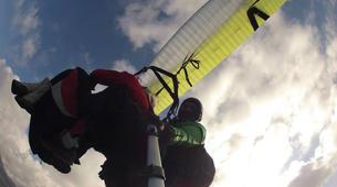 Parapente-Taormina-Tandem paragliding flight near Taormina, Sicily-5