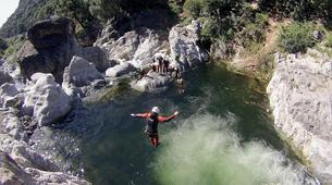 Canyoning-Marbella-Canyoning at Guadalmina Gorge near Marbella-6