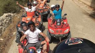 Quad-Ragusa-Quad excursions in the area of Passo marinaro, Sicily-6