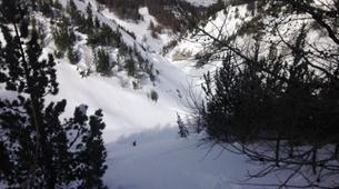 Backcountry Skiing-Monetier, Serre-Chevalier-Backcountry skiing and snowboarding in Monetier, Serre Chevalier-7