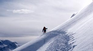 Backcountry Skiing-Alpe d'Huez Grand Domaine-Backcountry skiing session in Grandes Rousses, Alpe d'Huez-3