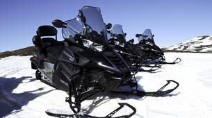 Snowmobiling-Northeastern Region of Iceland-Snowmobile excursion in Lake Myvatn, Northeastern Iceland-3