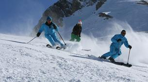 Backcountry Skiing-Valfréjus, Haute Maurienne-Backcountry skiing or snowboarding lesson in Valfréjus-2