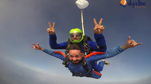 Skydiving-Syracuse-Tandem skydive from 4,200m over Syracuse, Sicily-1
