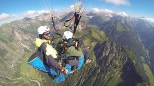 Paragliding-Oberstdorf-Tandem paragliding flight (2224 m.) in Oberstdorf-1