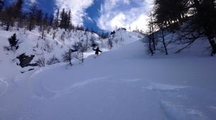 Backcountry Skiing-Monetier, Serre-Chevalier-Backcountry skiing and snowboarding in Monetier, Serre Chevalier-6