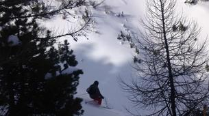 Backcountry Skiing-Monetier, Serre-Chevalier-Backcountry skiing and snowboarding in Monetier, Serre Chevalier-5