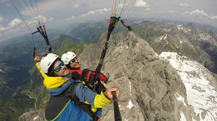Paragliding-Oberstdorf-Tandem paragliding flight (2224 m.) in Oberstdorf-4