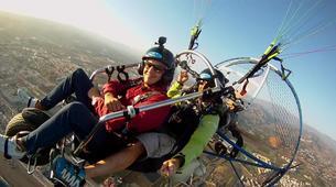 Paramotoring-Malaga-Tandem paramotoring flight near Malaga-3