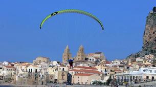 Parapente-Taormina-Tandem paragliding flight near Taormina, Sicily-3