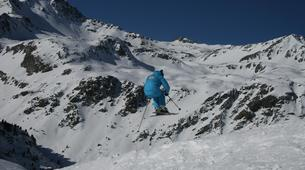 Backcountry Skiing-Valfréjus, Haute Maurienne-Backcountry skiing or snowboarding lesson in Valfréjus-1