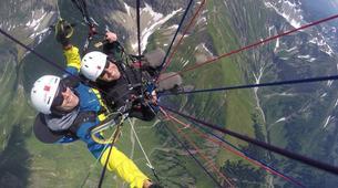 Paragliding-Oberstdorf-Tandem paragliding flight (2224 m.) in Oberstdorf-6